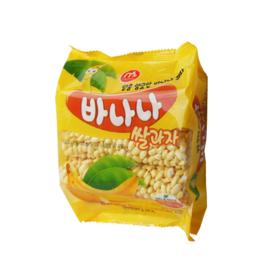 Mammos Rice Crackers - Banana 20x70g bag