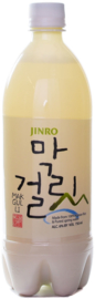 Makguli Makgeolli Jinro Korean Rise wine 750ml