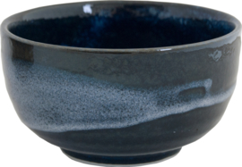 Matcha Bowl dark blue night  Ø13 x H7 cm