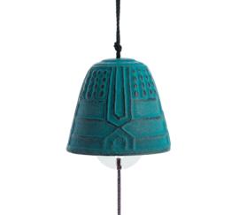 Iwachu Furin Feng Shui Bell Turquoise 4,5 cm