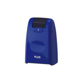 PLUS JAPAN privacy roll stamp standard, blue