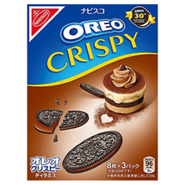 Oreo Crispy Cookies - Tiramisu Chocolate 154g