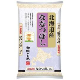 Shinmei Hokkaido-San Nanatsuboshi Rice 5kg