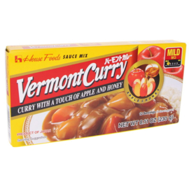 Vermont Curry Mild Apple and Honey 230g