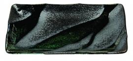 Choku Zwart Groenen Bord rechthoek 21 x 13 cm