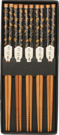 Eetstokjes bamboe Japans Libel