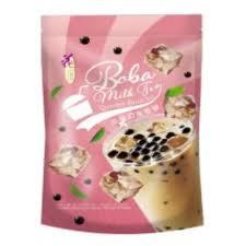 Snowflake Cake Pearl Milk Tea