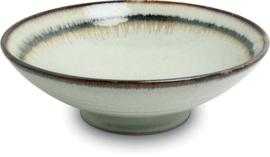 Wasabi schaal Ø24,5 cm   H7,5 cm