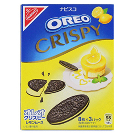 Oreo Crispy - Lemon mousse 154g