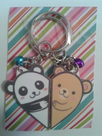 Friendship keychain animals set 2