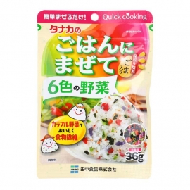 Rice spicemix Tanaka Gohan ni Mazete Wakana 36g