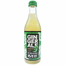Kimura Wasabi Ginger Ale 240ml