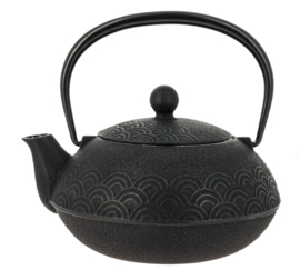 Wave Iwachu Teapot 650 ml Black