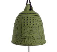 Iwachu Furin Feng Shui Bell Green 5,5 cm