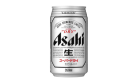 Asahi Super Dry 350ml blik
