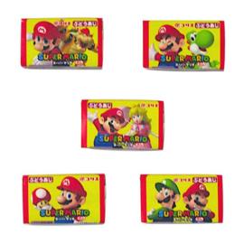 Super Mario kauwgom 5pcs