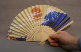 Waaier  Mount Fuji Morning Sun 21cm