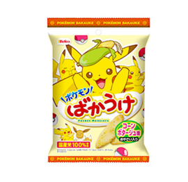 Pokemon Bakauke Corn Potage Crackers