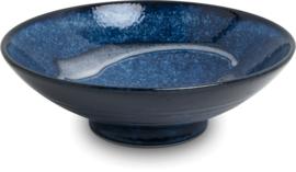 Izayoi blauw schaal Ø24,5 cm | H7,5 cm