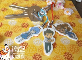 Evangelion charms set