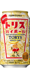 Suntory Torys Highball Whiskey Can Lemon 350ml 7%
