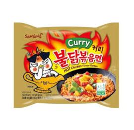 Korean Fire Noodle Chicken Ramen Hot Curry