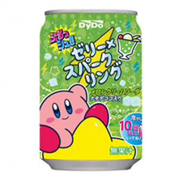 Prusshu! Jelly X Sparkling Melon Cream Soda 280g