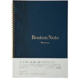 Maruman Boston Note Notebook A5 Gelinieerd 65 Pagina's