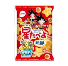 Dragon Ball Rice Creackers Stars