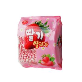 Mammos Rice Crackers - Strawberry 20x70g bag