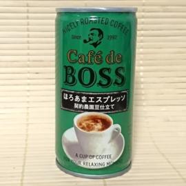 Suntory Cafe de Boss Bitter Sweet Espresso 185g