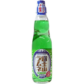 Mt. Fuji Ramune Drink Melon 410ml