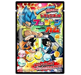 Dragon Ball Super  Fusion Gamu Chewing Gum