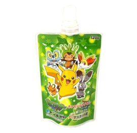 Pokemon pouch pudding druivensap