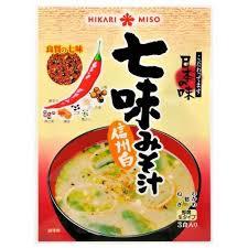 Hikari Miso Instant Miso soep Spicy (3 Kop)