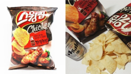 Korean Orion Swing Chip Soy Marinated Chicken 60g