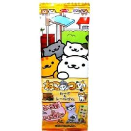 Neko Atsume Card & Sticker Chewing Gum
