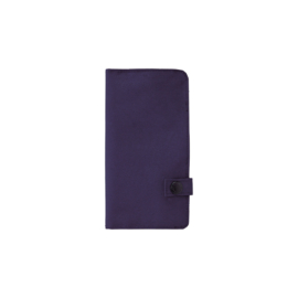 LIHIT LAB Smart Fit Slim Pen Wallet - Blauw