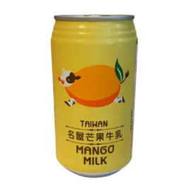 FH Mango Milk Drink 340ml TIN