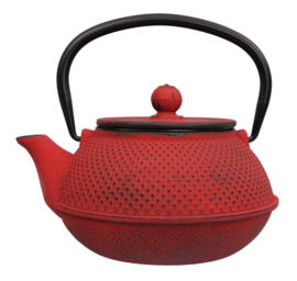 WY Tea Kettle Iron Rood Rond 0.8L