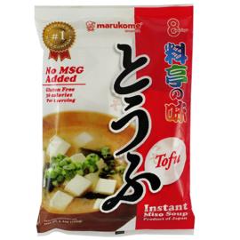 Marukome Ryotei No Aji Tofu (Dry Freeze Miso Soup) 7g