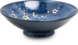 Schaal  Hana blauw Ø24,5 cm | H8 cm