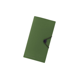 LIHIT LAB Smart Fit Carrying Pocket for Travel Paspoorthoesje Groen