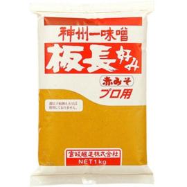 Itacho Aka Miso (Red Soy Bean Paste) 1kg