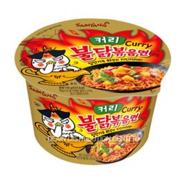 Korean Fire Noodle Chicken Ramen Hot Curry BIG Bowl 105g