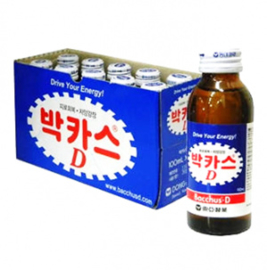 Bacchus D Korean Energy drink 100ml x 10