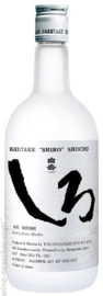 Jyunmai Shochu 'Shiro' Junmai Kama-Shochu 750ml