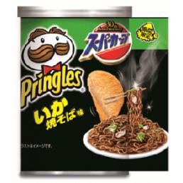 Pringles seafood yakisoba