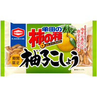 Kakinotane Yuzu Kosho Aji 6p (Yuzu and Peper rice crackers) 185g