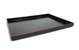 Japanese food Tray Black Red 39 x 28 x  1.1cm